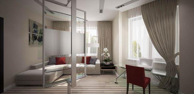 Дизайн окна в однокомнатной квартире